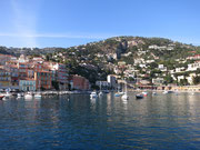 Hafen von Villefranche sur mer