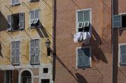 Fassade in Nizza's Altstadt