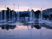 Neuer Brunnen im Jardin Albert Ier
