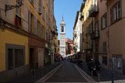 Gasse in Nizza Altstadt