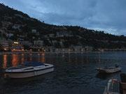 Villefranche sur mer am Abend