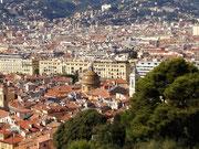 Blick auf Nizza'S Altstadt