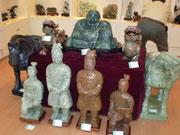Figuren aus Jade