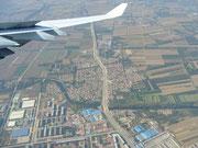 Landeanflug auf Peking