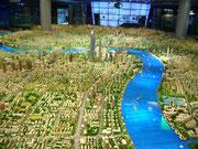 Modell von Shanghai