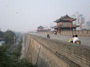tadtmauer in Xi'an
