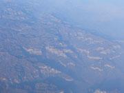 Wieder Flug über Sibirien
