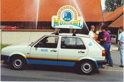 Musikmobil in Bruchhof bei Kreiensen mit Martin Reckweg am 4.6.1988