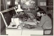 Im Regieraum vom Hörfunkstudio