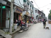 Nebenstraße in Shanghai