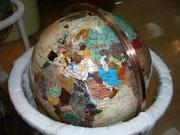 Globus aus Jade