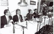 """Hörfunkaufzeichnung """"Sparen im Alter"""" im Ith-Hotel mit Hartmut Brinkmann 1994"""