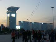 Das Medienzentrum der Olympischen Spiele 2008