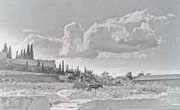 Vista panorámica en 1950