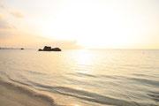 2418アラハビーチ夕日