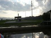 Eine der Neubauten im Entwässerungssystem der Linthebene