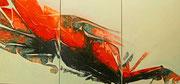 ohne Titel - 2019 - Acryl - 70x150 cm