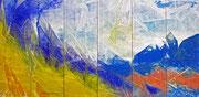 Am MEER - 2012 - Acryl - 120x240 cm