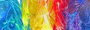 STUNDENBUCH 4 - 2012 - Acryl - 70x200 cm (in Privatbesitz)