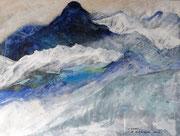 IM HIMALAYA - 2012 - Acryl - 60x80 cm (in Privatbesitz)