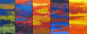 FARBSPIEL - 2012 - Acryl - 80x200 cm (im Besitz der öffentlichen Hand)