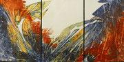 ohne Titel - 2019 - Acryl - 60x120 cm (in Privatbesitz)