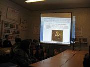 10 февраля 2013 г. литературный час посвященный А.С.Пушкину.