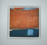 acryl auf leinen - 40 x 40