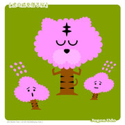 【虎の威を借る桜】「こうして弱い桜は散ってゆく」