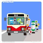 【バス停の客】「客がいれば停車します」