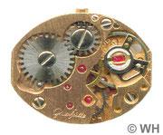GUB DAU Kal. 09-60 vergoldetes Werk , Werkseite