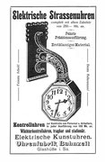 Werbeanzeige1911 im Saxonia Heft Nr.8