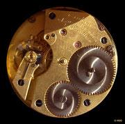 Körnig vergoldetes Werk mit 1. Platinenform der DUF