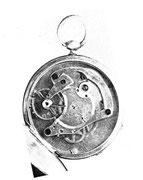 Eine der ersten Lange Uhren