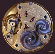 Deutsche Präzisions-Uhrenfabrik Glashütte e.G.m.b.H. Kaliber 43 Typ 2.1