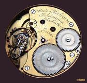 Erste Dokumentation einer Taschenuhr der Firma J. Assmann mit der Signatur der Union horlogère