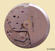 GUB Kaliber 75 Werkseite mit Rotorautomatik