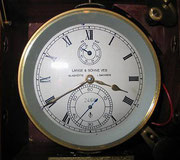 Schiffschronometer Lange VEB Glashütte i/Sa.
