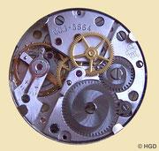 GUB Kaliber 60.3 16 Steine Lagersteine werkseitig z.T. in Goldchatons