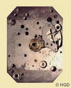 Urofa Kaliber 581 mit 4-Loch Winkelhebelfeder, verbesserter Aufzug