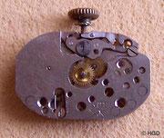 5 ¼- liniges Pfeilerwerk Kal. Kurtz 12, Zifferblattseite