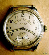 Erstes neues Glashütter Armbanduhrkaliber nach 1945