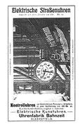 Werbeanzeige1913 im Saxonia Heft Nr. 10