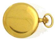 18 karätiges Gelbgold Savonette Gehäuse