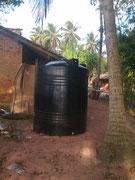 Der neue Wassertank
