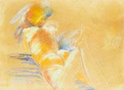 Nu de dos (Pastell) 50 x 70 cm, 1993