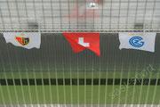 Basel und GC Fahne