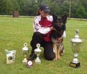 Linda en Amazing Luca van Domestico Canide 2004
