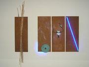 EVOLUTION  Eisen -Reisig -Zahnrad -Hochspannung Neon-Led