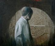 Ubicuidad 1  2019 Óleo sobre tela 65 x 55 cm